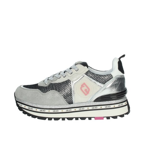 Liu-jo Shoes Sneakers Grey MAXI WONDER