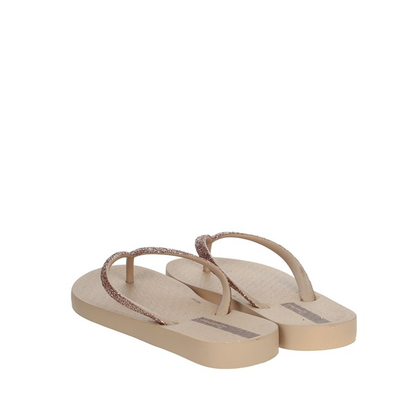 Ipanema Shoes Flip Flops Beige 81946