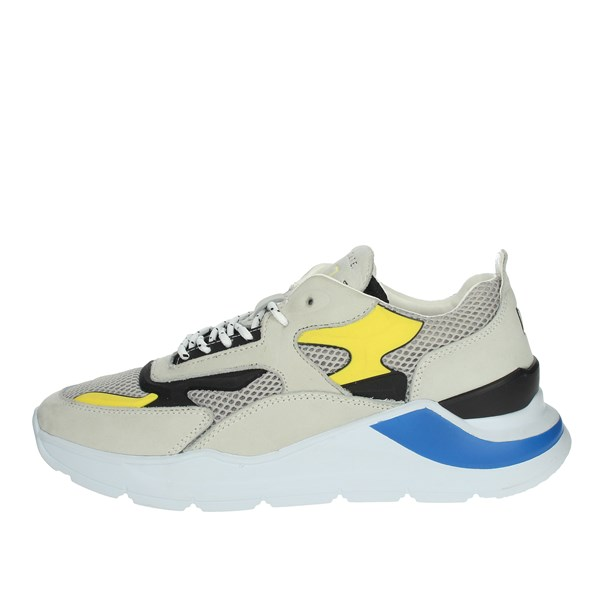 D.a.t.e. Shoes Sneakers Grey/Yellow  FUGA IN