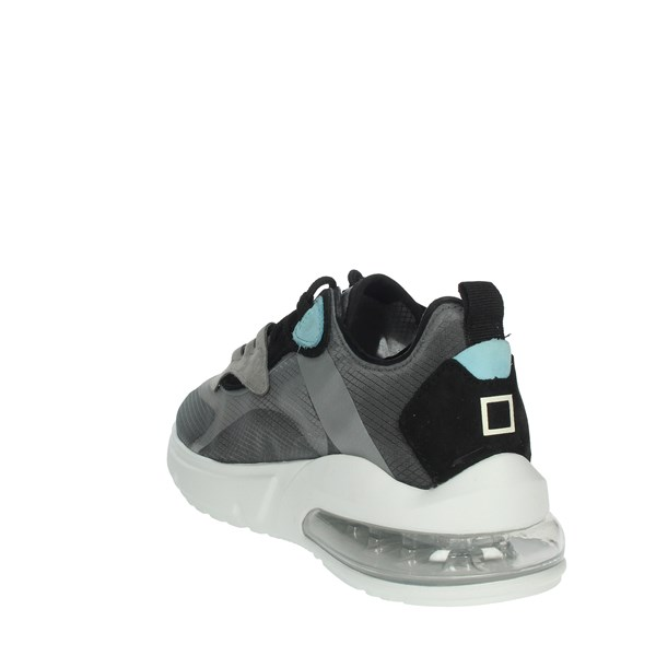 D.a.t.e. Shoes Sneakers Black AURA