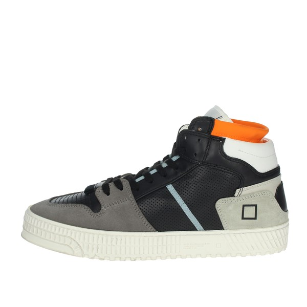 D.a.t.e. Shoes Sneakers Black/Grey PRIME