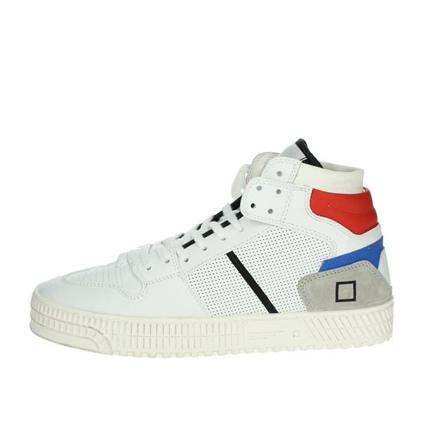 D.a.t.e. Shoes Sneakers White/Red PRIME