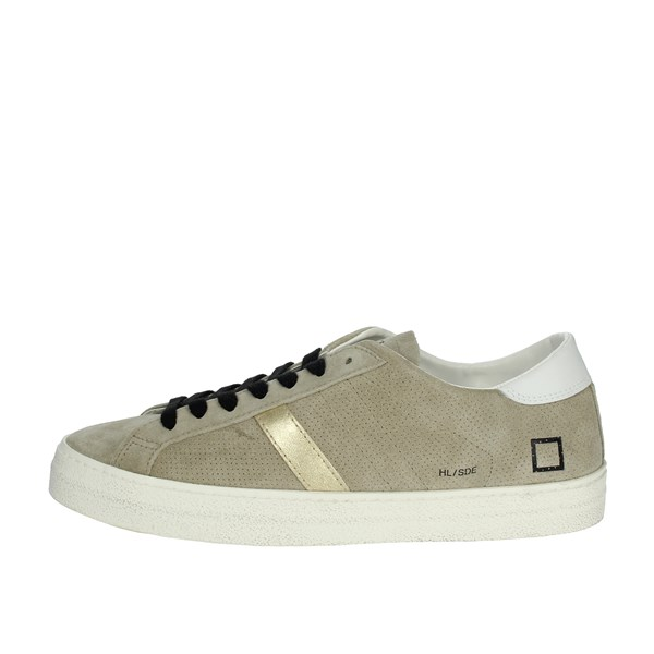 D.a.t.e. Shoes Sneakers dove-grey HILL LOW SUEDE