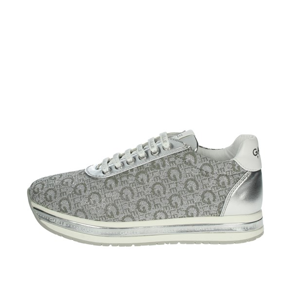 Gaelle Paris Shoes Sneakers Silver G-681