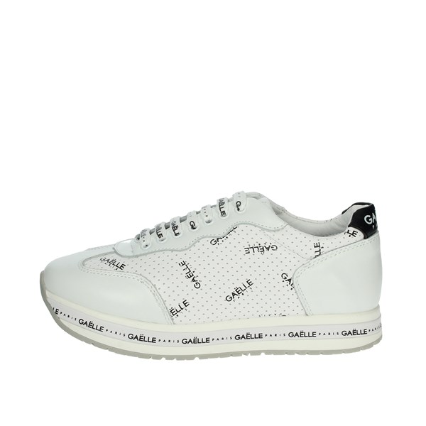 Gaelle Paris Shoes Sneakers White G-682