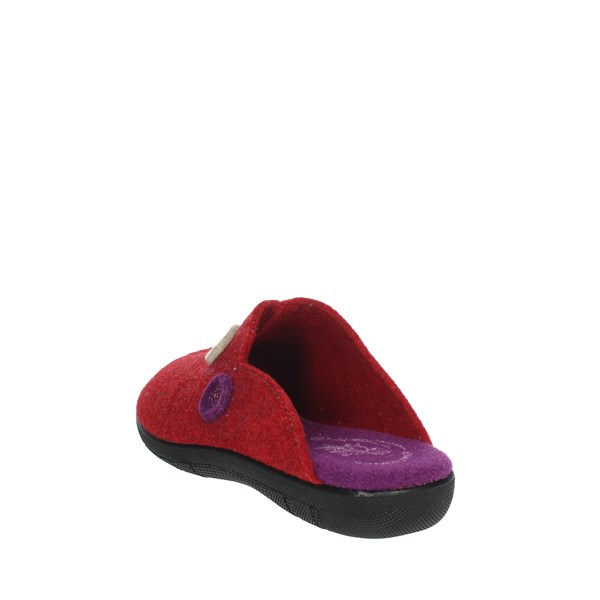 Ariel Shoes Clogs Red 1700