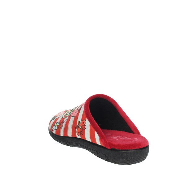 Ariel Shoes Clogs Red 1100