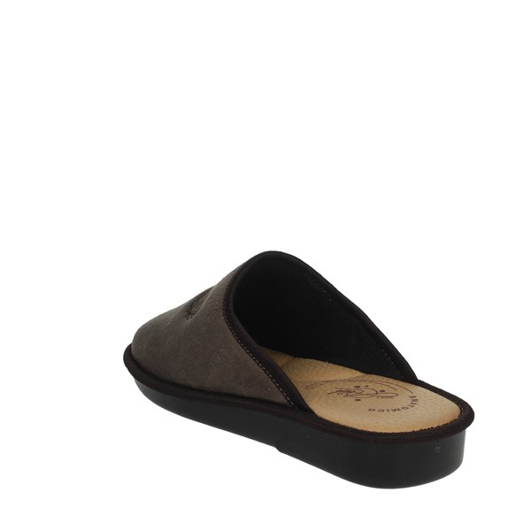 Ariel Shoes Clogs Brown Taupe 8000