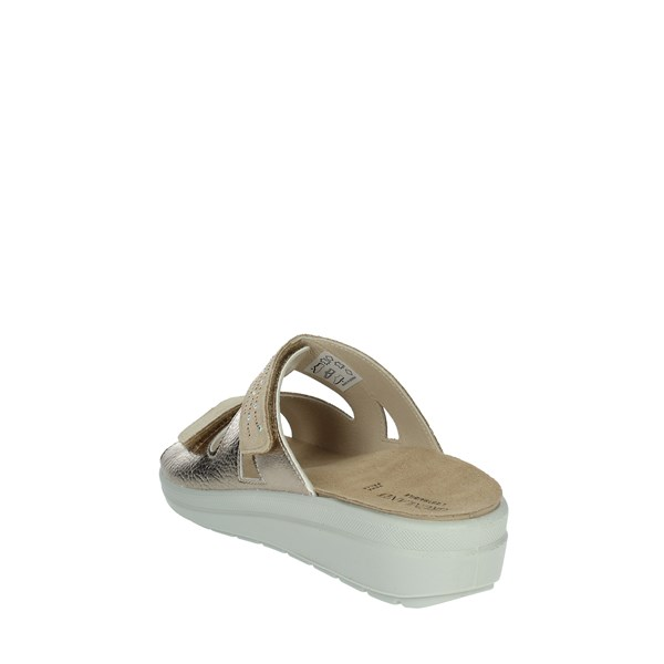 Grünland Shoes Clogs Beige/gold CE0343-59