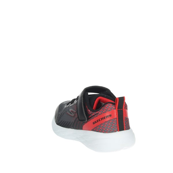 Skechers Shoes Sneakers Black/Red 97858N