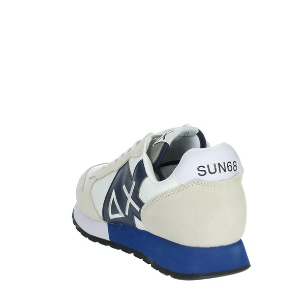Sun68 Shoes Sneakers White/Blue Z31110