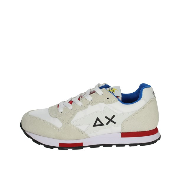 Sun68 Shoes Sneakers White/Red Z31318