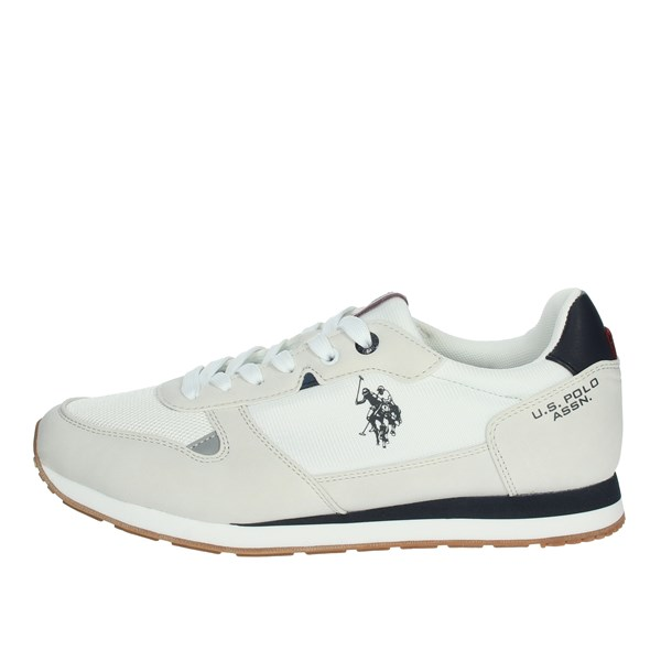 U.s. Polo Assn Shoes Sneakers White/Blue WILY