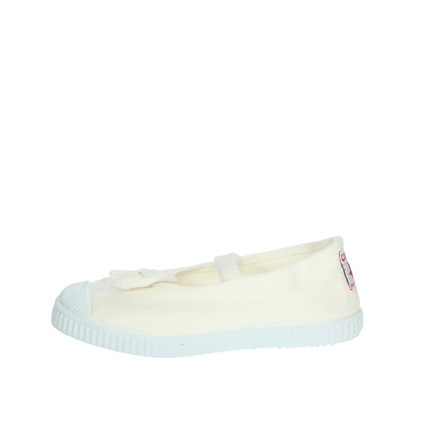 Cienta Shoes Ballet Flats White 73997