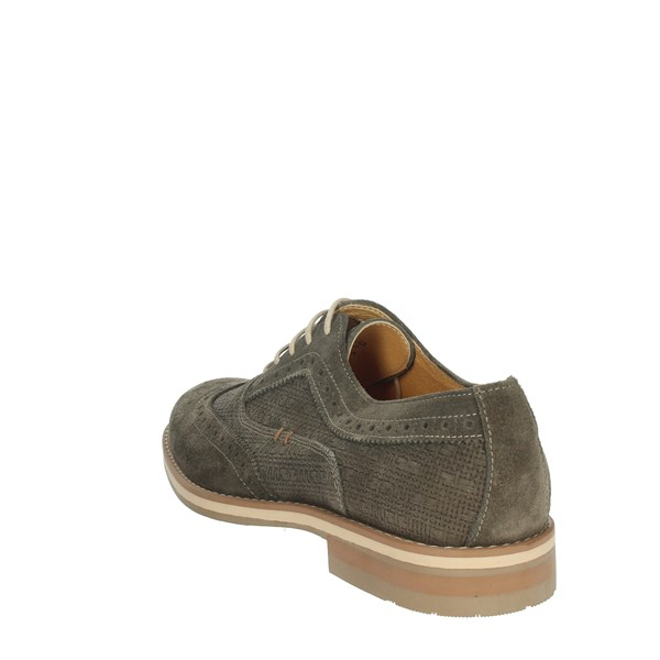 Genus Millennium Shoes Brogue Brown Taupe 14611