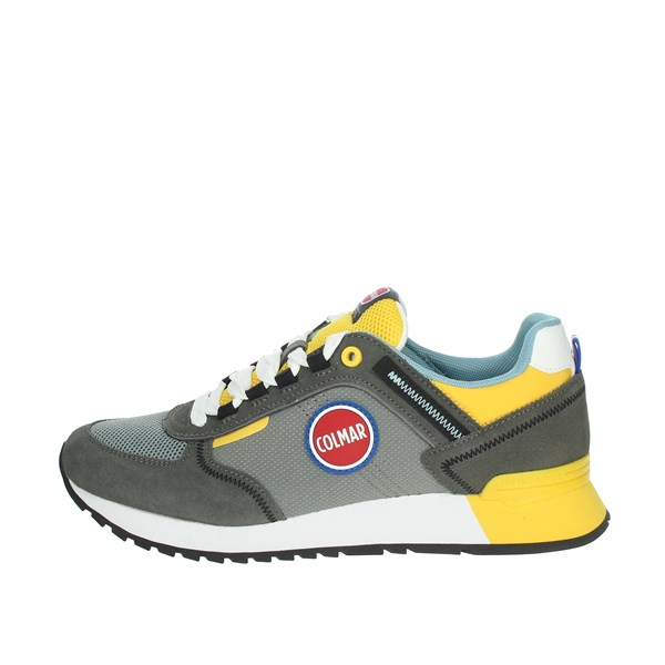 Colmar Shoes Sneakers Grey/Yellow  TRAVIS SPORT