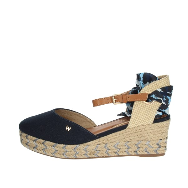 Wrangler Shoes Espadrilles Blue WL11611A
