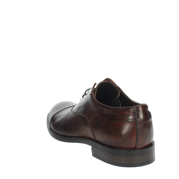 Payo Shoes Brogue Brown leather 1236