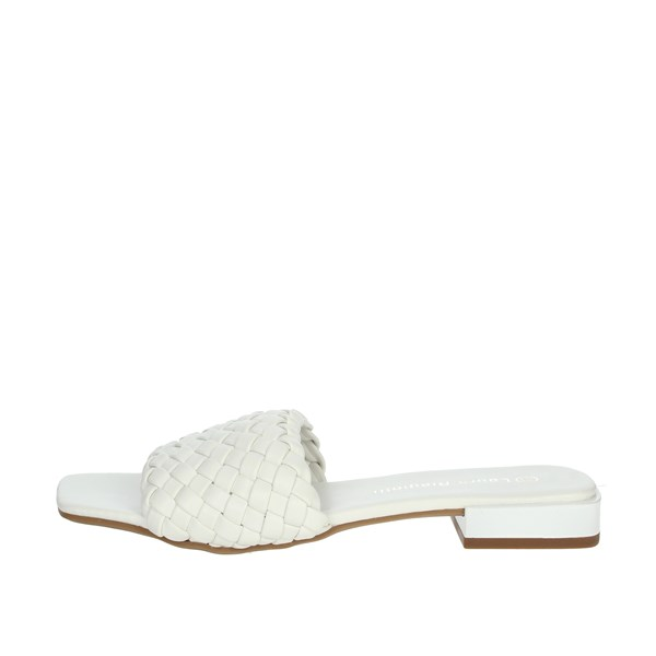 Laura Biagiotti Shoes Clogs White 6740