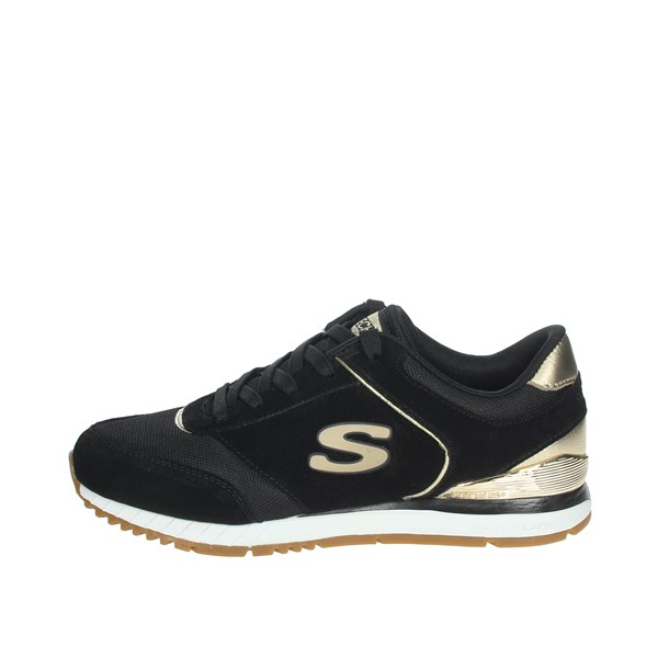 Skechers Shoes Sneakers Black/Gold 910