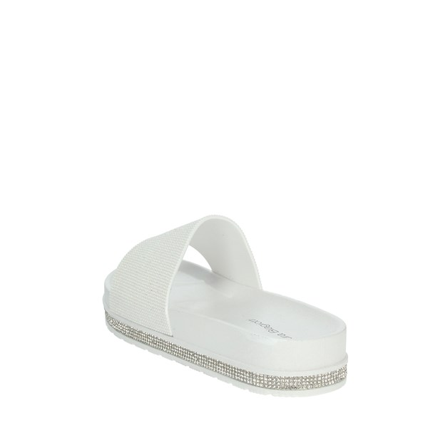 Laura Biagiotti Shoes Clogs White 6868