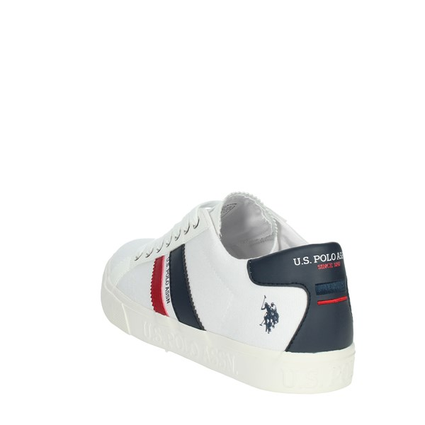 U.s. Polo Assn Shoes Sneakers White/Blue MARCS030