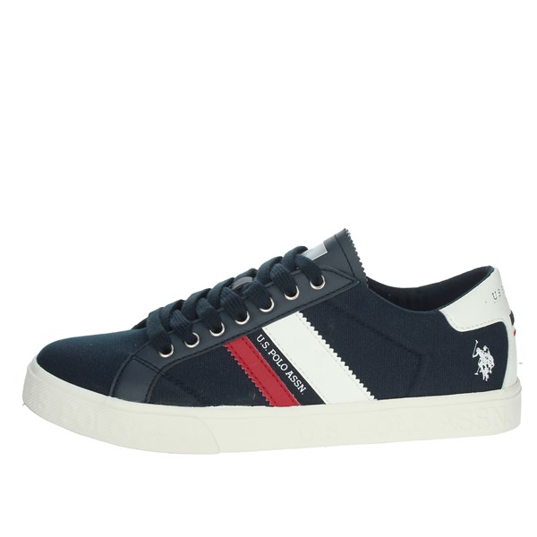 U.s. Polo Assn Shoes Sneakers Blue/White MARCS030