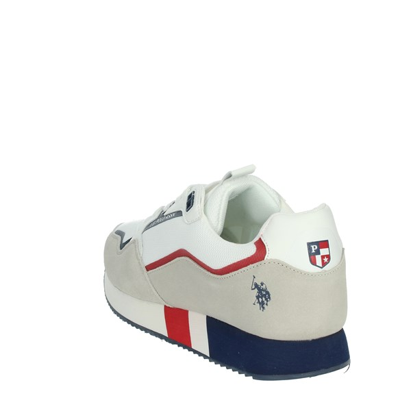 U.s. Polo Assn Shoes Sneakers White/Blue LEWIS143