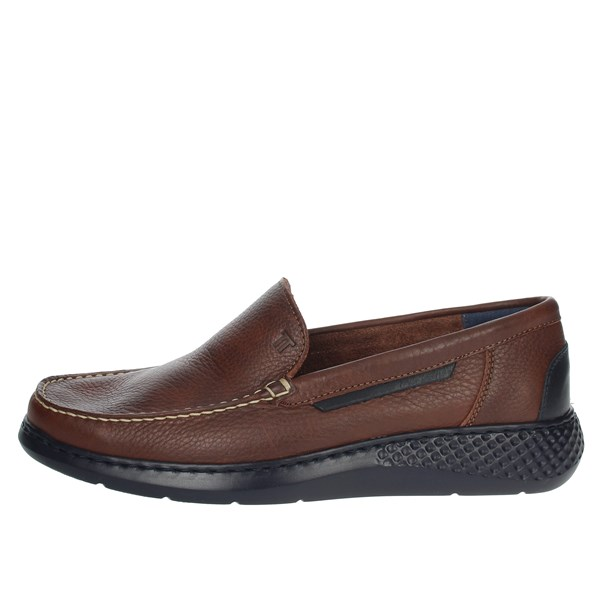 Notton Shoes Moccasin Brown 148