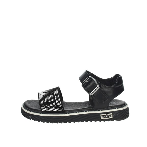 Cult Shoes Sandal Black STONE