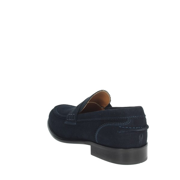 Gino Tagli Shoes Moccasin Blue 652