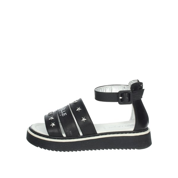 Gaelle Paris Shoes Sandal Black G-961