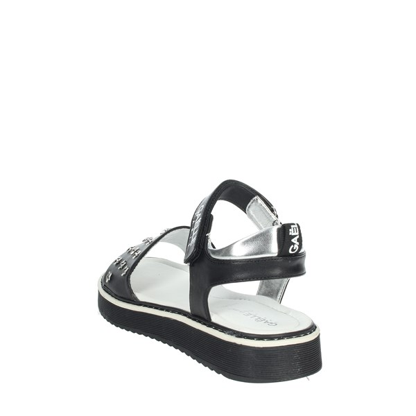Gaelle Paris Shoes Sandal Black G-960