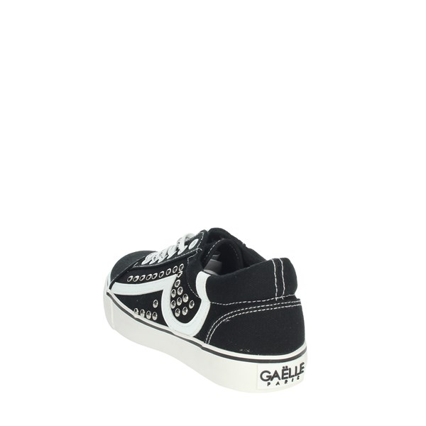 Gaelle Paris Shoes Sneakers Black/White G-980