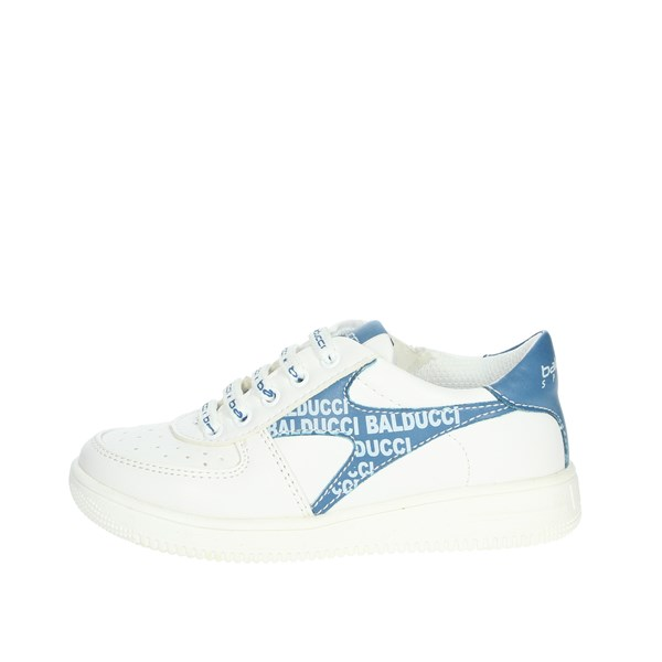 Balducci Shoes Sneakers White/Light-blue BS2221