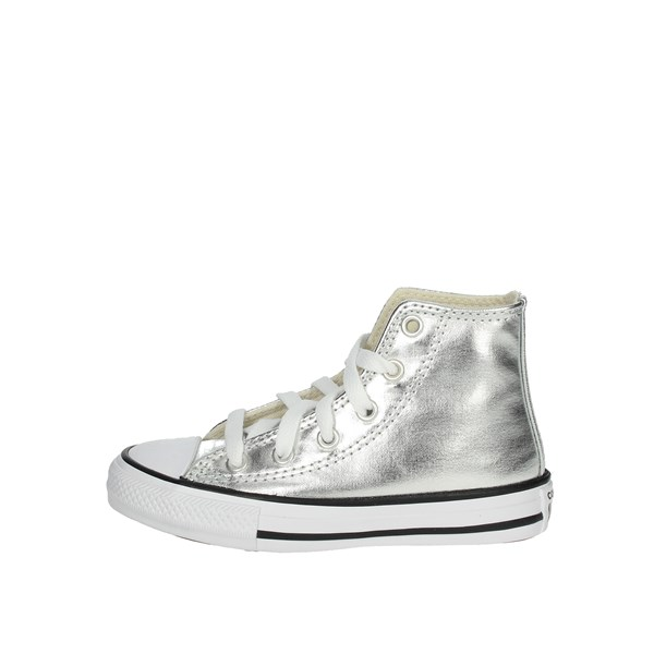 Converse Shoes Sneakers Silver 670179C