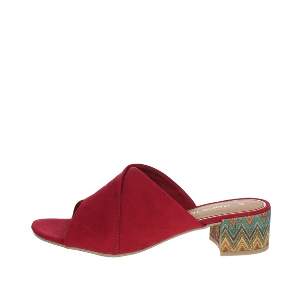 Marco Tozzi Shoes Clogs Red 2-27227-26