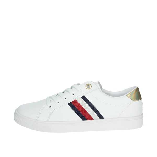 Tommy Hilfiger Shoes Sneakers White/Blue FW0FW05545