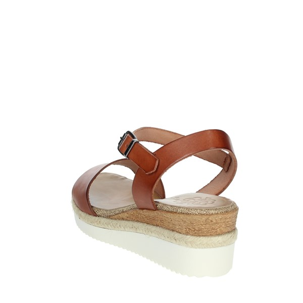 Porronet Shoes Sandal Brown leather FI2651