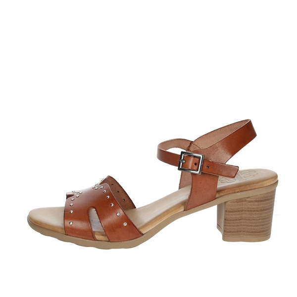 Porronet Shoes Sandal Brown leather FI2626