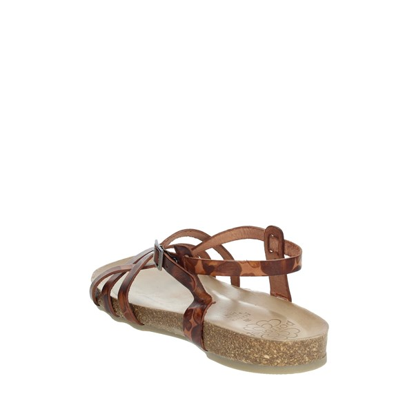 Porronet Shoes Sandal Brown leather FI2615