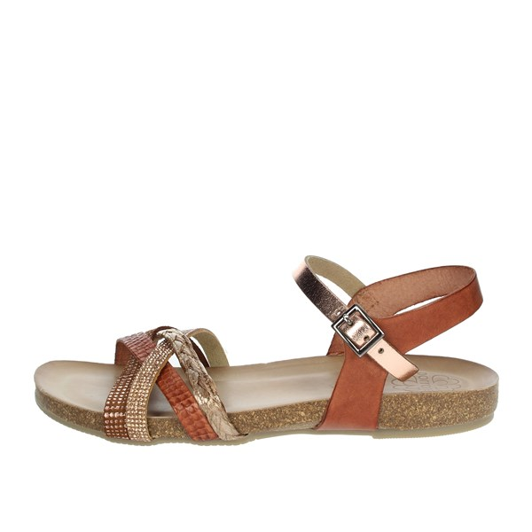 Porronet Shoes Sandal Brown leather FI2613