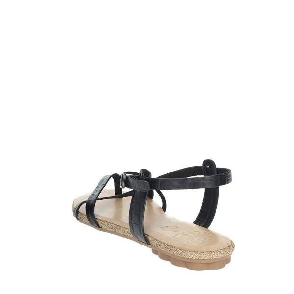 Porronet Shoes Flip Flops Black FI2602