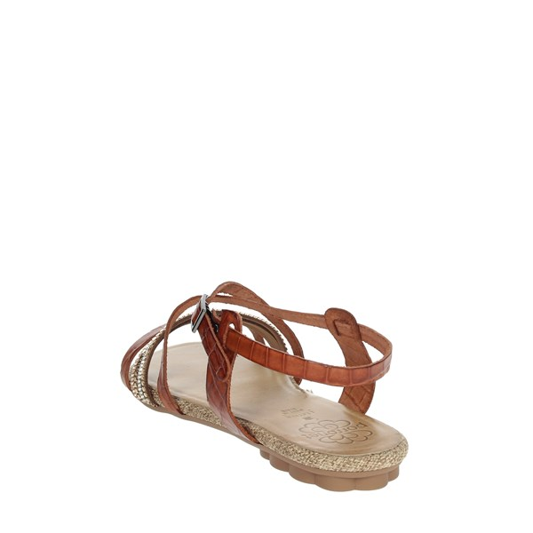 Porronet Shoes Sandal Brown leather FI2616