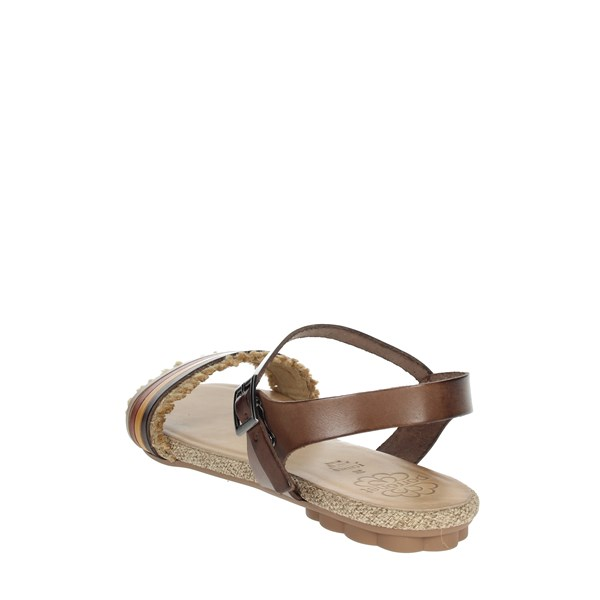 Porronet Shoes Sandal Brown leather FI2605
