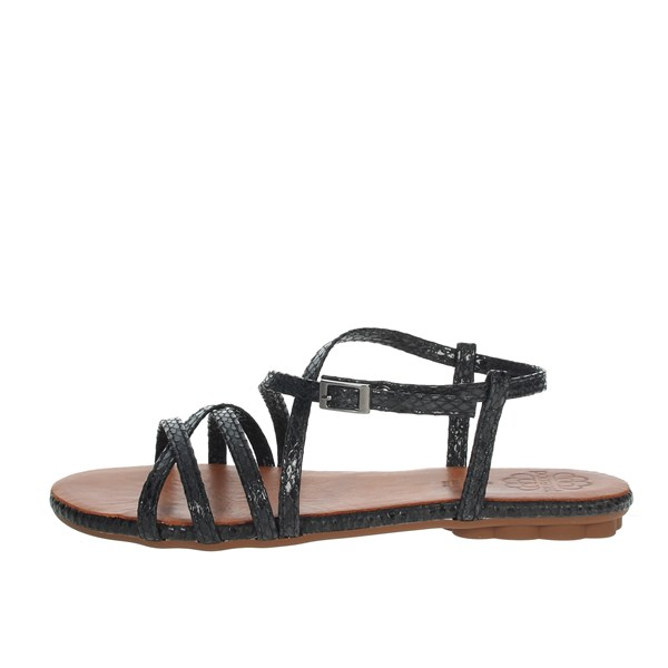 Porronet Shoes Sandal Black A200