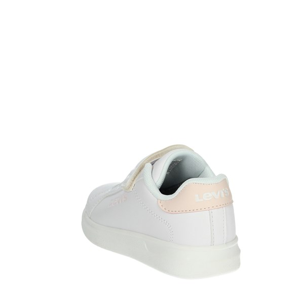 Levi's Shoes Sneakers White/Pink ELLIS