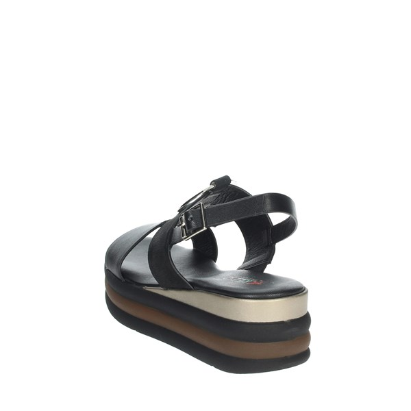 Repo Shoes Sandal Black 12290-E1