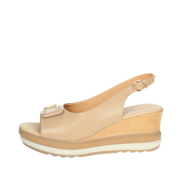 Repo Shoes Sandal Beige 20428-E1