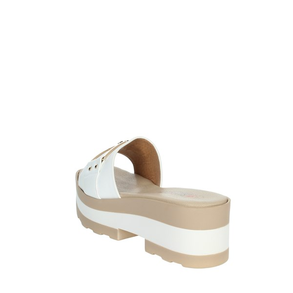 Repo Shoes Clogs White 61158-E1